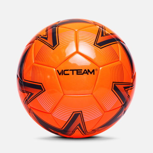 Fluo Orange soccer balls