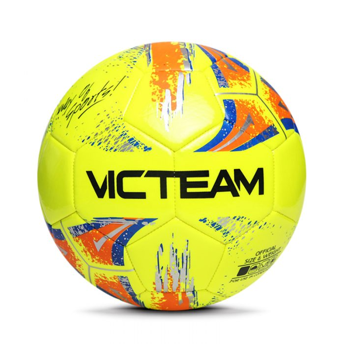 Machine Sewing PVC Football