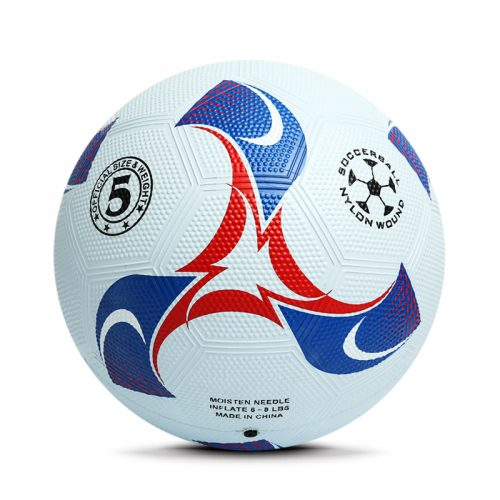 New Product Low Price Eco-friendly Recreation Rubber Football for Children