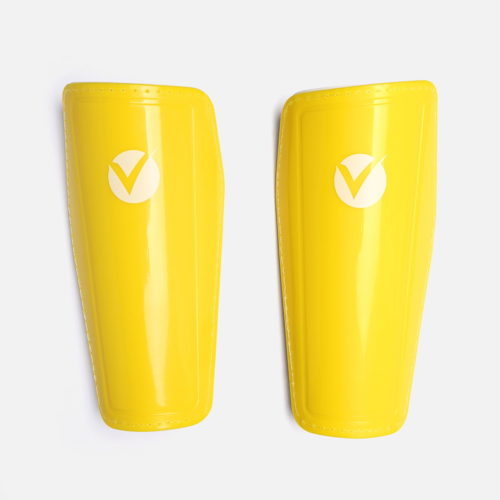 Yellow Football Shin Guards