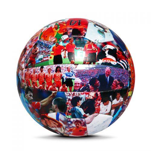 18 Panels retro soccer ball