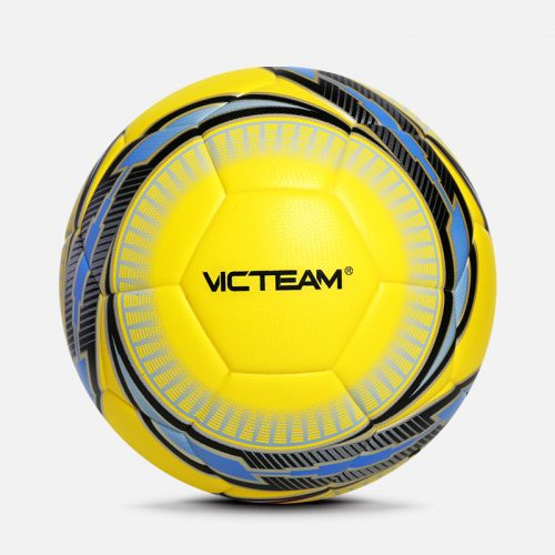 vibrant colorful soccer football