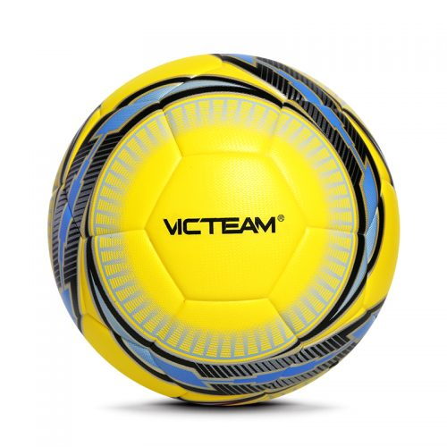 vibrant colorful soccer football
