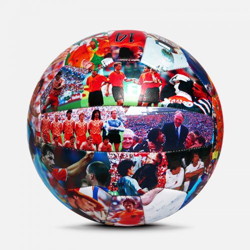 18 Panels retro soccer ball