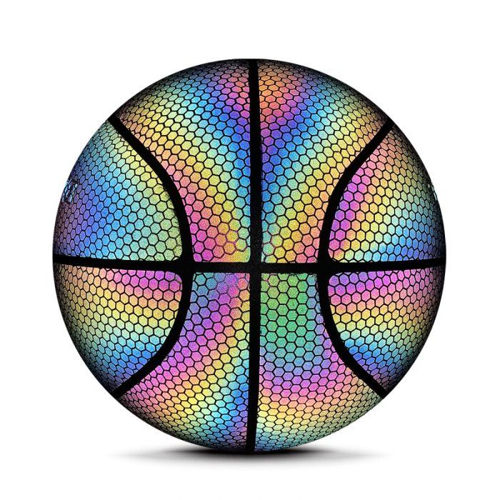 Holographic Glow Ball Basketballs