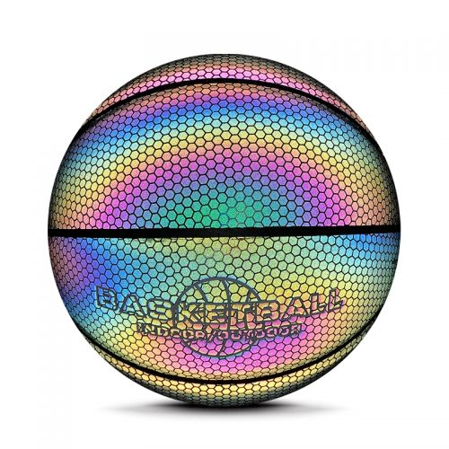 Reflective Glow Basketball Ball