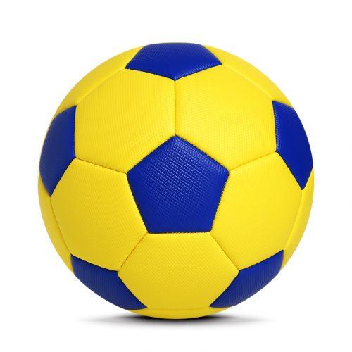 Yellow PVC Soccer Football