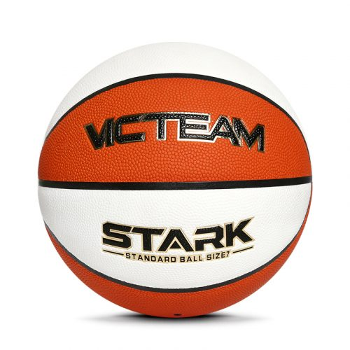 Two colors Microfiber basketball ball