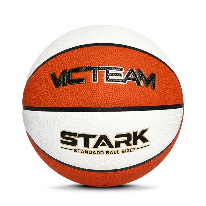 Two colors Microfiber basketball ball